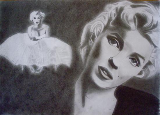 Marilyn Monroe par Jessie